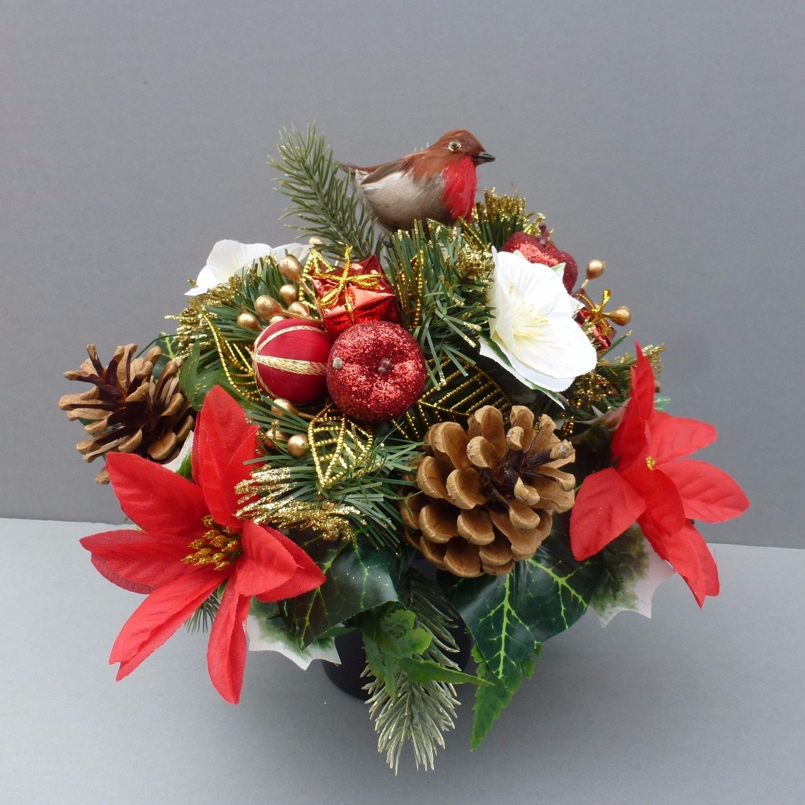 Christmas Grave Decorations Uk: Artificial Flower Wedding Decorations, Hanging Baskets