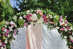 Silk flower wedding decorations artificial flower studio garlands mightylinksfo