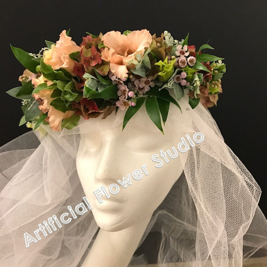 Fresh flowers hairpiece