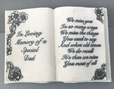Memorial Ornament Book