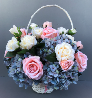 Mother's day flower arrangement with Hydrangea
